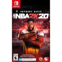 NBA 2K20 NINTENDO SWITCH BRAND NEW NEVER PLAYED