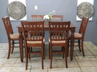 Solid dining table+6 chairs & Huth Mississauga, L5A 1Y5