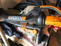 WORX WG500 TRIVAC ELECTRIC BLOWER WITH VACUUM BAG Virginia Beach, 23453