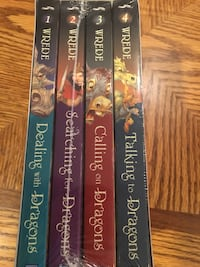Brand new full set of the Enchanted Forest Chronicles  London, N6H 5A7