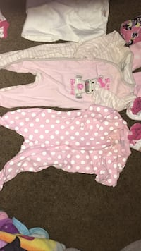 Like new 0-3 month 10 Jammie's 4 nightgowns  Henderson, 89012