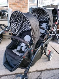 Double stroller @ clic klak used toy warehouse mississauga  Mississauga, L4X 2S3