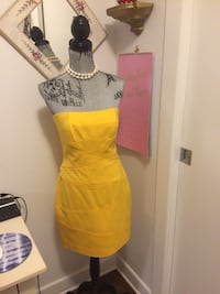 Beautiful Yellow dress Cynthia Steffe Montréal, H1Z 3T7