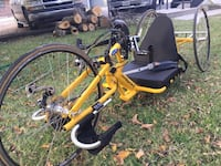 Yellow and black adult trike
