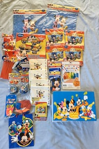 Disney Mickey Mouse Clubhouse Birthday party lot
