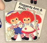 Raggedy Ann and Andy FM/AM radio