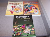 3- MCDONALDS AND FAST FOOD TOYS PRICE GUIDES BOOKS Vaughan