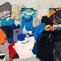 Huge lit if 5-6 year old boy summer clothing