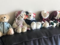 Genuine TY Babies - Eighteen Ty Bears