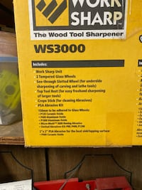 Wood Tool Sharpener by WORK SHARP.
