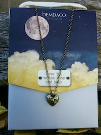 NEW STORY HEART NECKLACE Medford