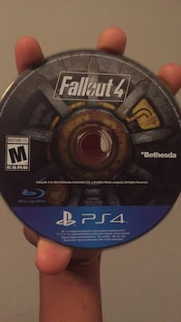 Fallout 4 PS4 game disc Palm Springs, 33461