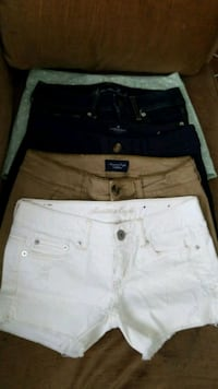 American Eagle Shorts 4 size 2. 1 size 4 Sterling, 20164