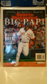 Sports illustrated/ David Ortiz  - Big Papi