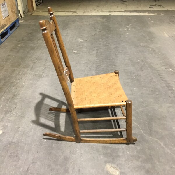 Antique cane rocking chair. In great condition. Closing antique shop and selling what's left   04a7a896-4a05-4fee-937a-081d4ae6d69d