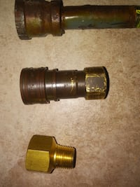 Natural Gas Pipe Fittings for BBQ Brampton