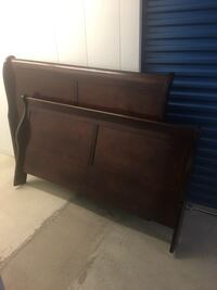 Queen Headboard and Footboard Sterling, 20164