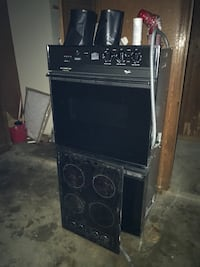 black Whirlpool double oven North Little Rock, 72116