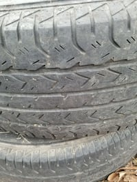 215 65 16  factory mustang rims and tires 250 obo