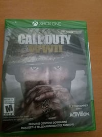 BNIB Call of Duty WWII for Xbox One 557 km