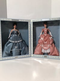 """""""Wedgewood"""" Limited Edition Barbies (Lot of 2)"""