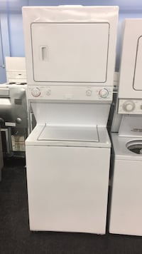 white stackable washer and dryer Toronto, M3J 3K7