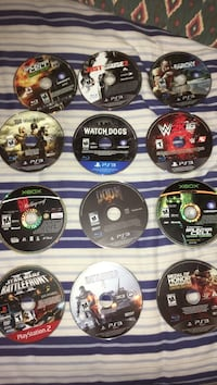 Games for PS3/original Xbox/ps2