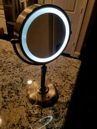 Led Lighted Magnified Makeup Mirror Aubrey