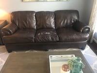 Brown Leather Couch for Sale Rockville