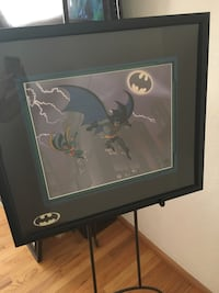 Batman: The Animated Series Limited Edition Cel 13/500 Lancaster, 93534