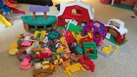 3 Little People Sets - Ark, Barn and Ferris Wheel with People and animals Brampton, L6W 1R9