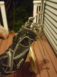 black and gray golf bag Corner Brook, A2H 2P4