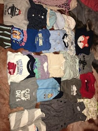 clothes mostly of the clothes is new born