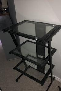 Glass Printer/ Office stand