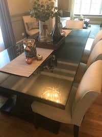 Glass top to protect dining room table