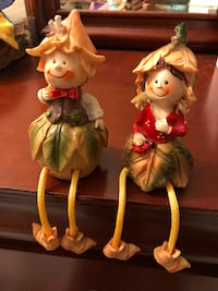 Autumn Couple Hanging Figurine Menlo Park