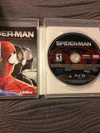 Spiderman Shattered Dimensions for PS3