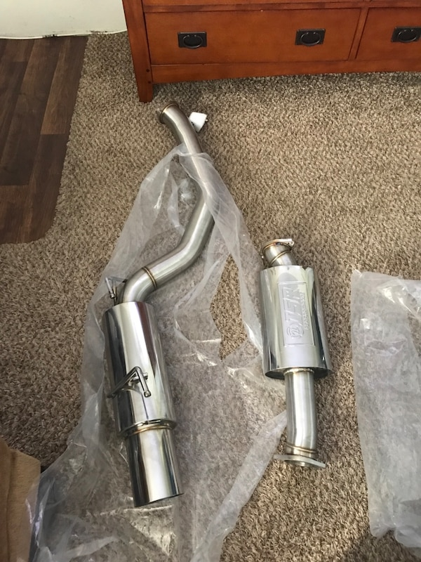 Brand new Nissan 370z isr single exit exhaust
