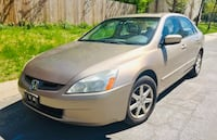 Price is VERY FIRM & Cheap ' 2003 Honda Accord ' Leather ' No check engine light Takoma Park