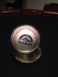 Colorado Rockies/Coors Field Baseball in case Baltimore, 21236