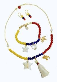 Venezuela Necklace, bracelet & earrings se Toronto, M6M 4N7