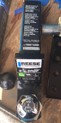 """New Reese starter hitch 3 1/2 drop with pin and 2"""" ball Phoenix, 85023"""
