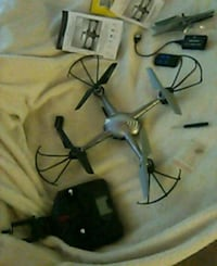 black and gray quadcopter drone Hyattsville