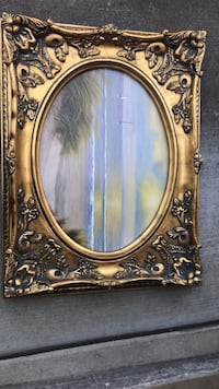 brown wooden framed wall mirror Union City, 94587
