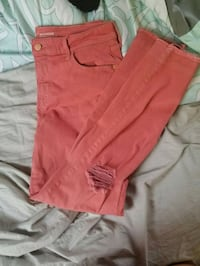women's orange shorts Daniels, 25832