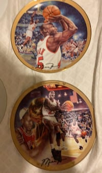Franklin mint individually numbered Michael Jordan collectible plates Ewing, 08618