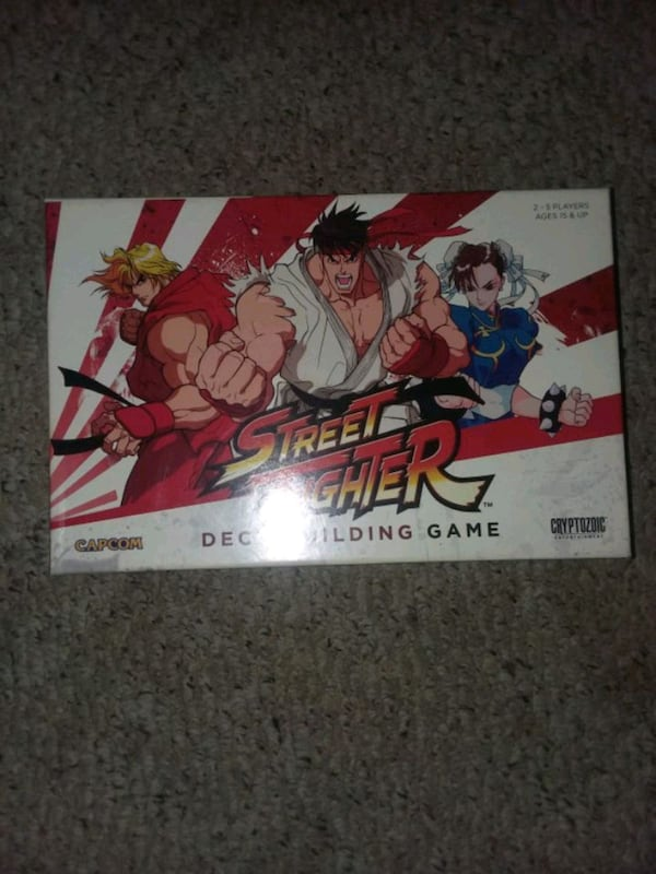 Street Fighter Board Game 0de89363-bbfe-487b-8cba-d5c737d72483