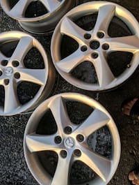 """2004 -2009 Mazda MAZDA 3 17"""" rims comes with 1 all season and 2 winter tires with no charge you only pay for the rims  Whitchurch-Stouffville"""