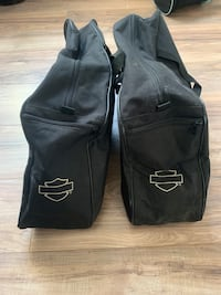 Harley Davidson Canvas Side Bags Chesapeake, 23320