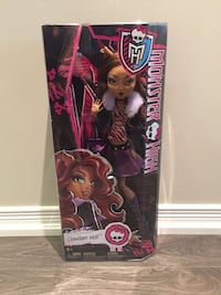Large Monster High Doll (18 inches) Hamilton